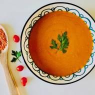 Pikantna, rozgrzewająca zupa krem curry z soczewicą