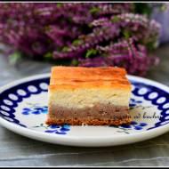 Ciasto serowo-piernikowe