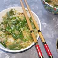 Ryż z zielonymi warzywami
