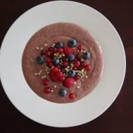 Wegański budyń pudding czekoladowo – migdałowy