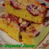 Najlepsze ciasto ze śliwkami.