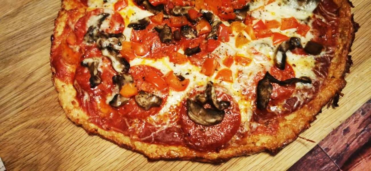 Pizza z kurczaka