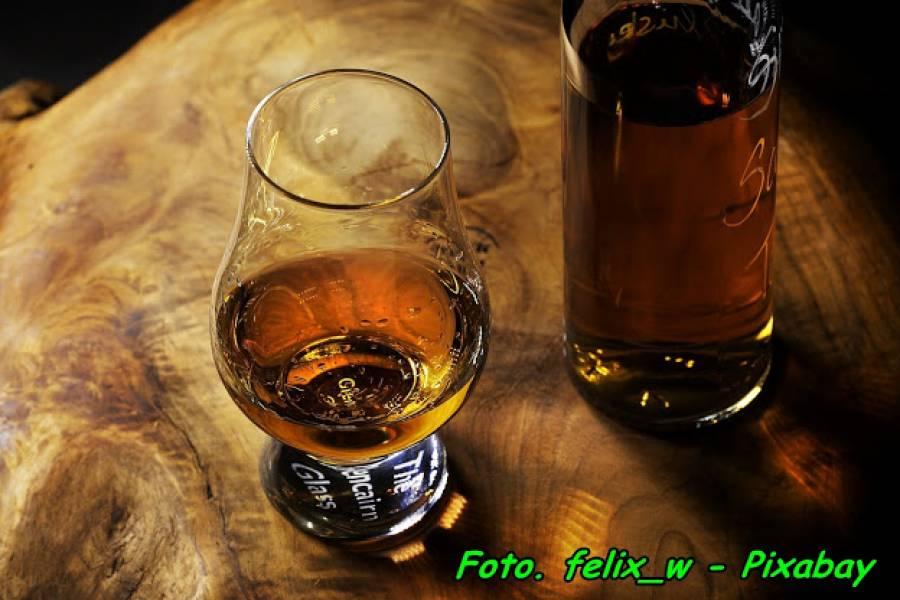 Przepis na domową whisky.