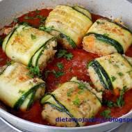 Roladki w sosie pomidorowym
