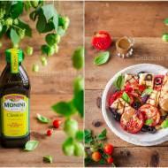Sałatka z pieczonych pomidorów i halloumi / Roasted tomato and halloumi salad