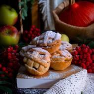 Kruche babeczki z jabłkami