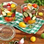 Marynowane pomidory z warzywami