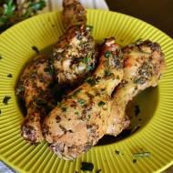 Podudzia z kurczaka po grecku.