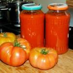 Zdrowy przecier pomidorowy, domowe przetwory