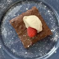 Kladdkaka – ciasto czekoladowe