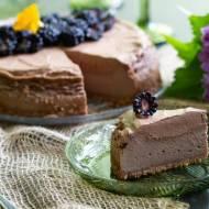 Sernik czekoladowy z musem