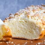 Chałka z mąką żytnią i migdałową kruszonką