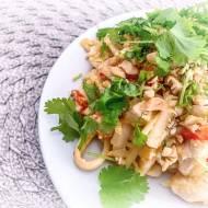 Błyskawiczne Pad Thai z kurczakiem