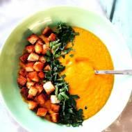 Zupa krem z cukinii i warzyw z rosołu
