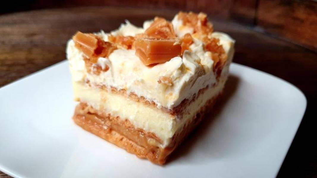 Ciasto krówka bez pieczenia.