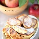 Placki drożdżowe z jabłkami (racuchy).