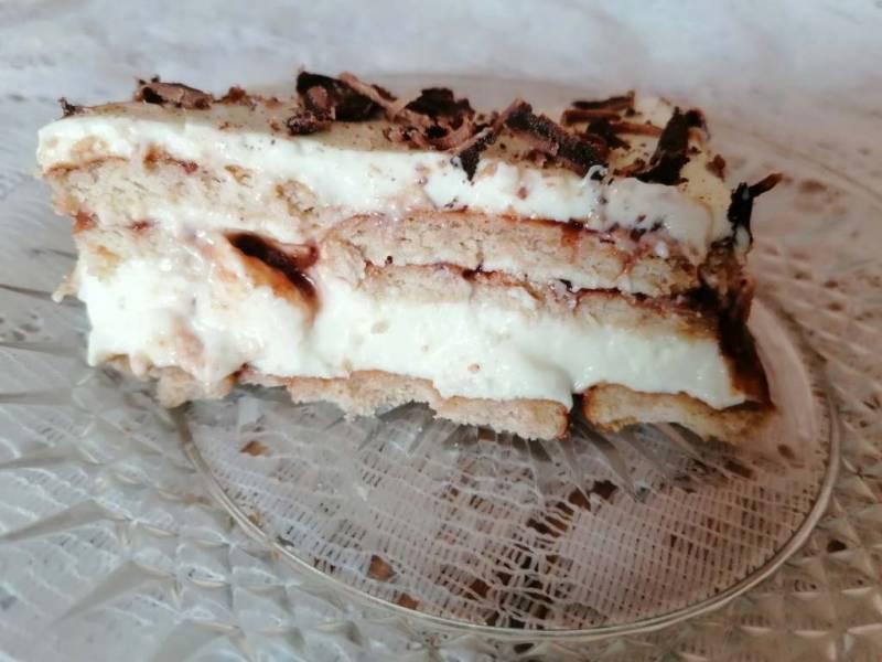 ciasto bez pieczenia Wezuwiusz