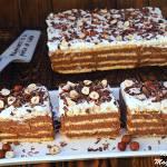 Budyniowiec czekoladowo-orzechowy (bez pieczenia)