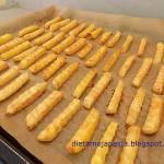 Frytki w 10 minut z piekarnika