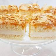 Ciasto krówka budyniowa na biszkopcie