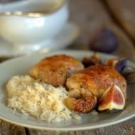 Kurczak pieczony z figami