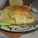 Zapiekany pochrzyn z serem i ziarnami słonecznika