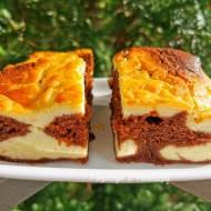 Cielaczek (kakaowe ciasto z serem)