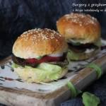 Burgery z grzybami