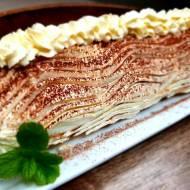 Rolada Tiramisu – pyszny deser bez pieczenia.