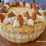 Tort KarmelLove podwójnie karmelowy