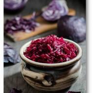 Modre Kimchi, czyli kimchi z czerwonej kapusty