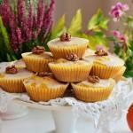 Dyniowe muffinki z lukrem