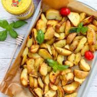 Ziemniaki pieczone w miodzie z ziołami