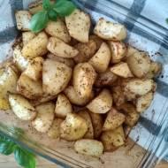 Pieczone ziemniaki.