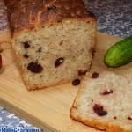 Chleb na zakwasie żytnim z żurawiną