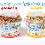 Jogurt kokosowy z muesli/granolą – Dobra Kaloria + Planton