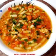 Zupa fasolkowa z soczewicą