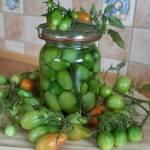 Kiszone zielone pomidory