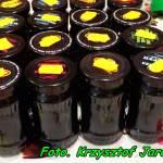 Sok z owoców czarnego bzu ( na cukrze trzcinowym ).