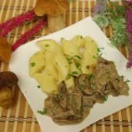 Kopytka z sosem grzybowym – przepis na sos grzybowy i kopytka