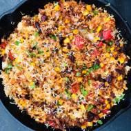Zapiekanka meksykańska z ryżem