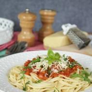 spaghetti napoli na ekspresowy obiad