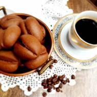 Ciasteczka kawowe – ziarna kawy.