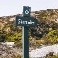 Ciekawe miejsca za Bergen – Sotra, szlak Storskora
