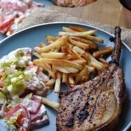 Pikantny stek wieprzowy