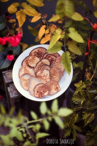 Placki z mąki kasztanowej