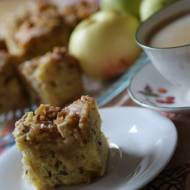 Jabłecznik z orzechami, szybki i pyszny