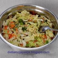 Surówka obiadowa Jaśka i jej tajemny składnik