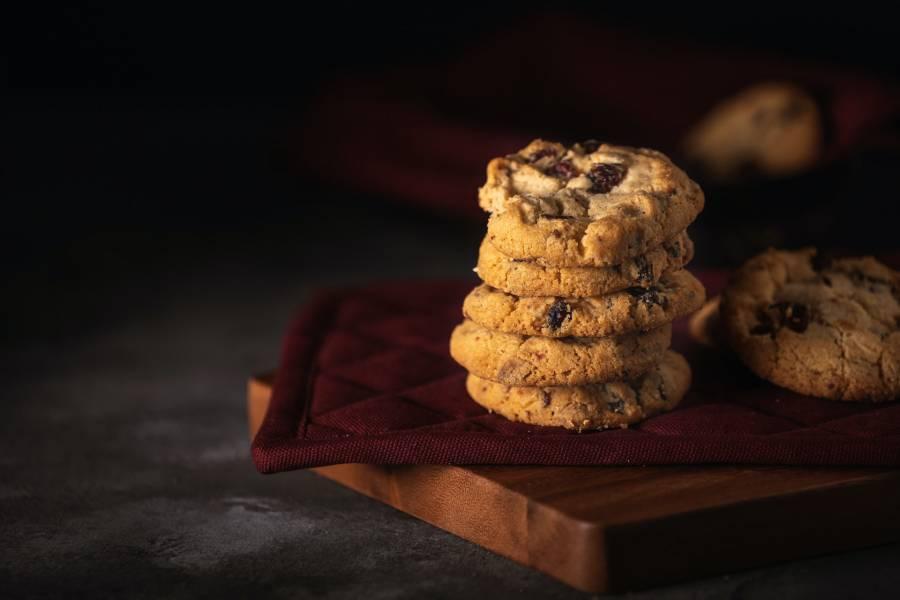 Ciasteczka z czekoladą i bakaliami