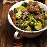 Wołowina z brokułami